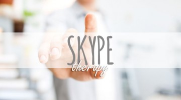 Skype is useful for individuals who are unable to have face to face counselling.